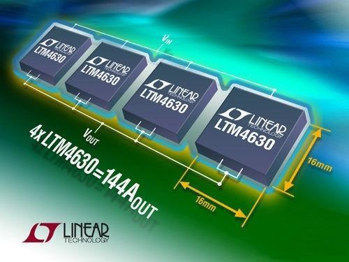 凌力尔特推出降压型稳压器LTM4630 - STAR - 电子元器件
